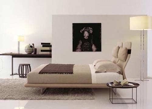 Спальня дизайн с телевизором